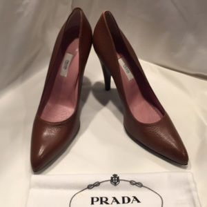 Prada designer heels